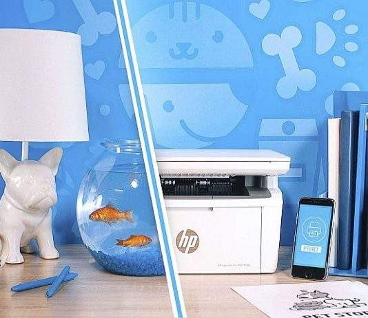 HP laserski printer