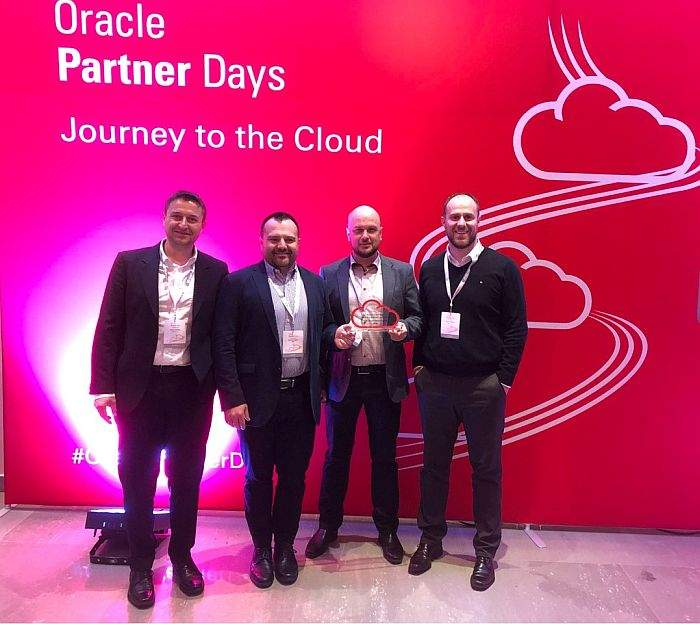 Oracle Partner Day_Bucharest award