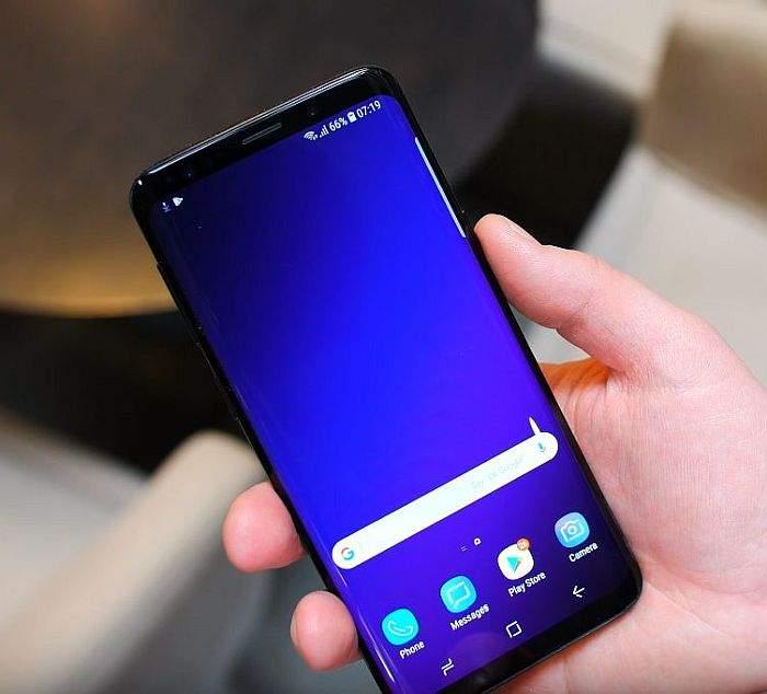 Samsung Galaxy S9 dizajn