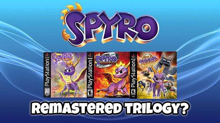 Spyro the Dragon Trilogy Remaster PS4