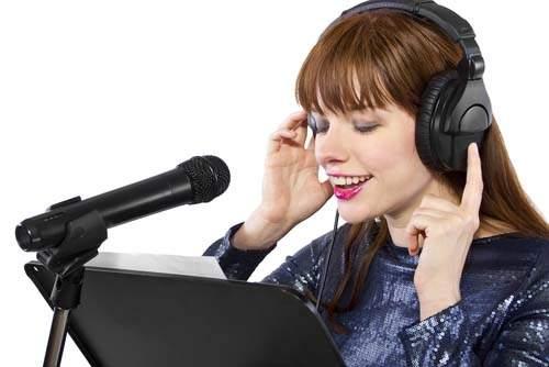 Voice acting freelancer