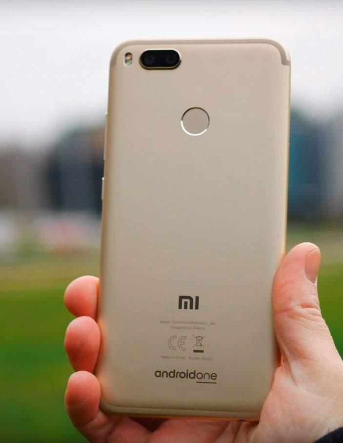 Xiaomi Mi A1 dizajn