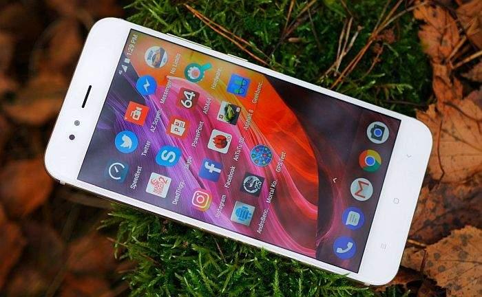 Xiaomi Mi A1 zaslon