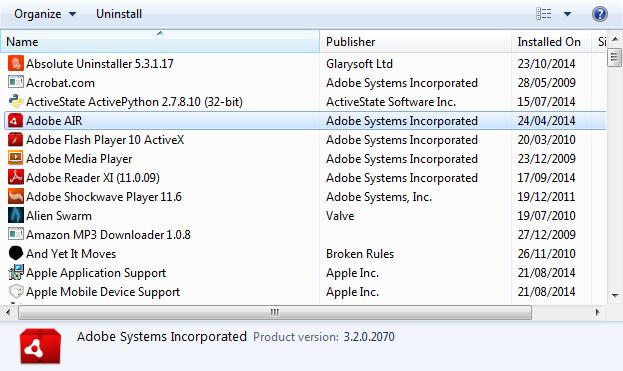 instaliranje mnogo programa