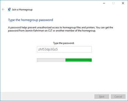 windows homegroup