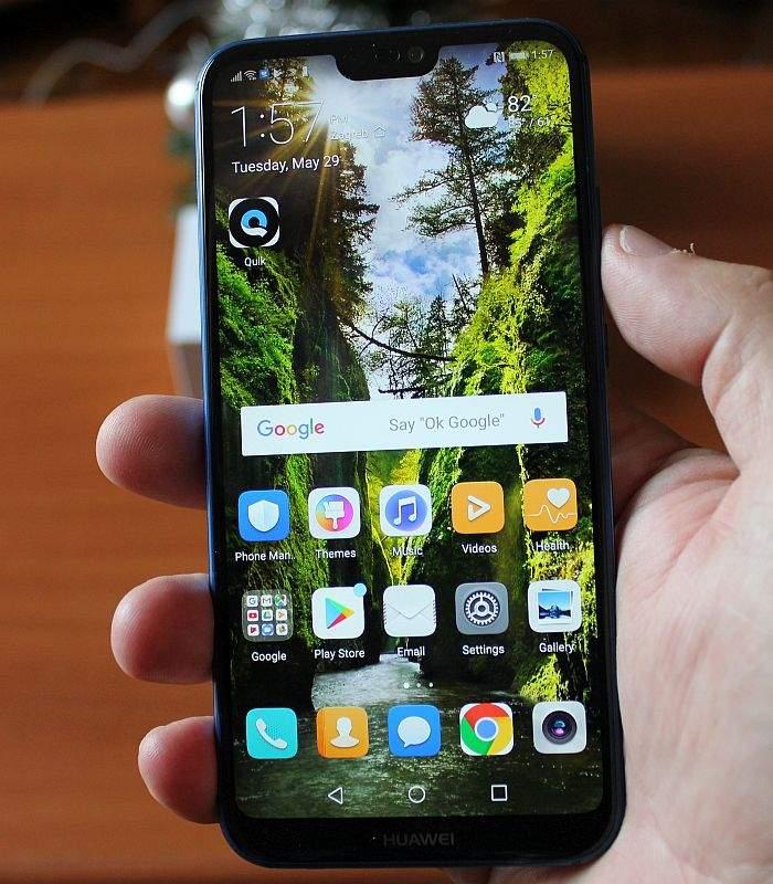 Huawei P20 Lite zaslon