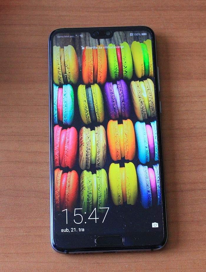 Huawei P20 ekran