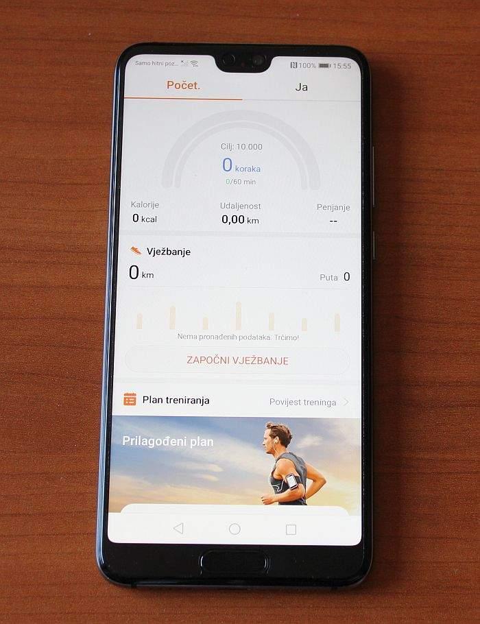 Huawei P20 softver