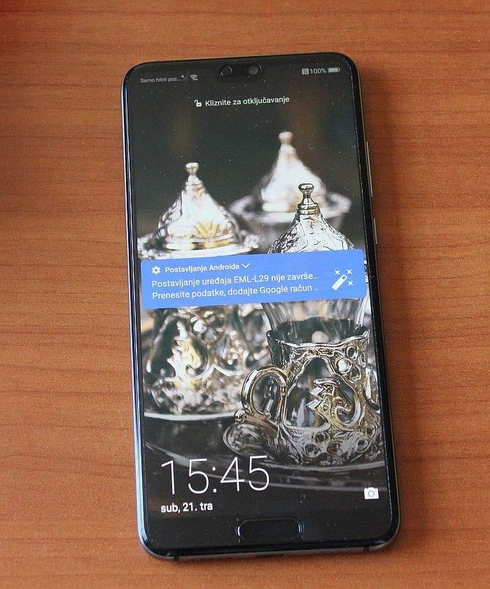 Huawei P20 test