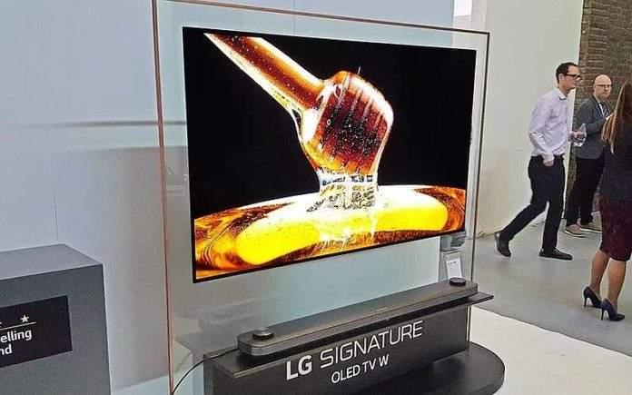 LG W8 WALL TV