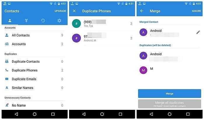 Simpler Merge Duplicates app