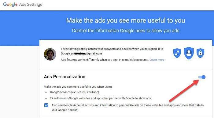 onemogućivanje google reklama