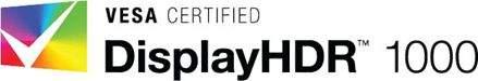 vesa 1000 certifikat