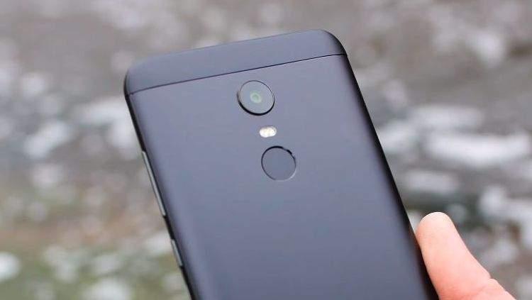 Xiaomi Redmi 5 Plus kamera