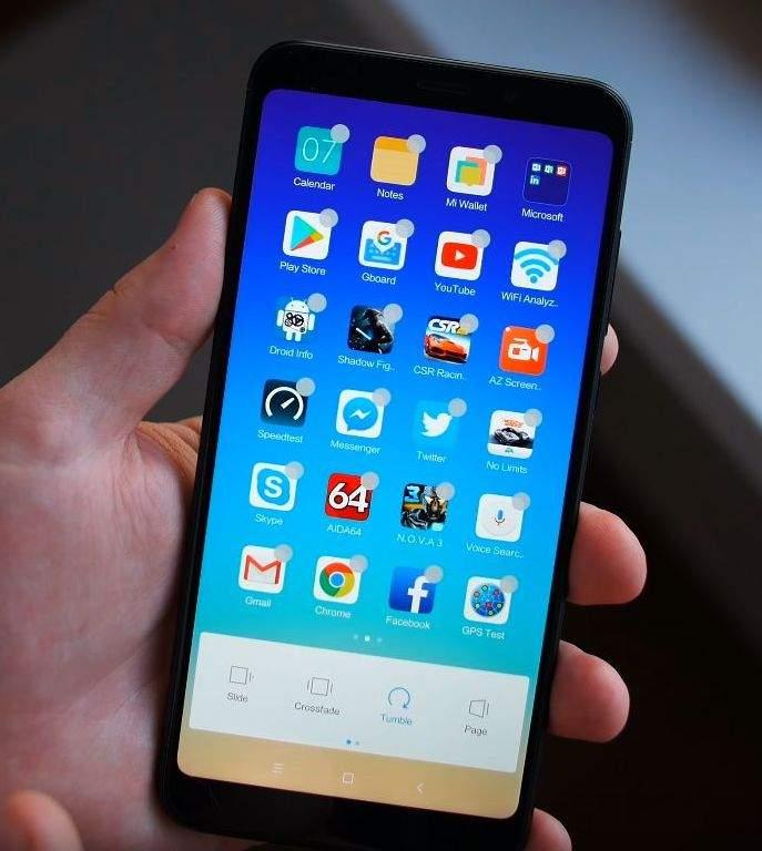 Xiaomi Redmi 5 Plus softver