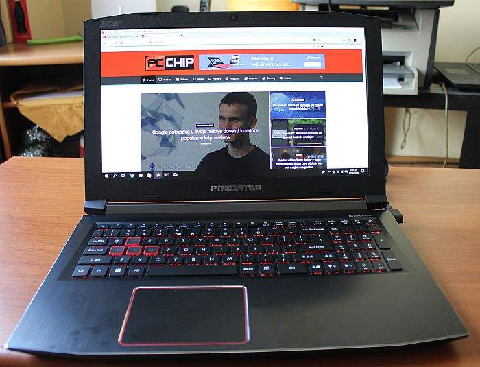 Acer Predator Helios 300 recenzija