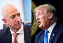 Trump Bezos