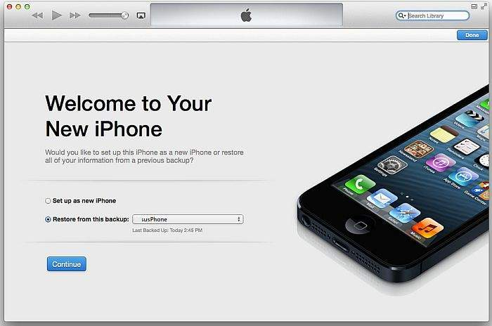 Welcome to Your New iPhone