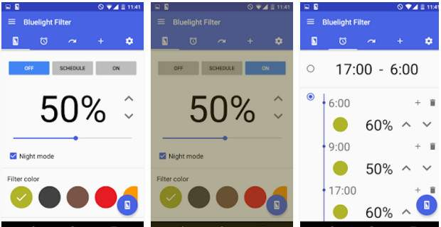 Bluelight Filter for Eye Care for Android