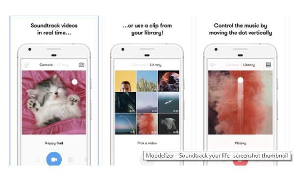 Moodelizer za iphone