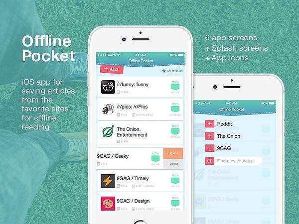 Pocket aplikacija za iphone