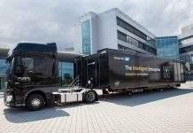 SAP roadshow kamion