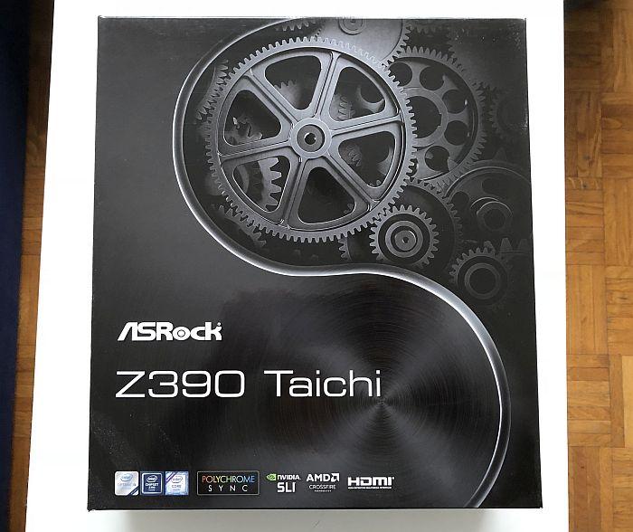 ASRock Z390 Taichi recenzija