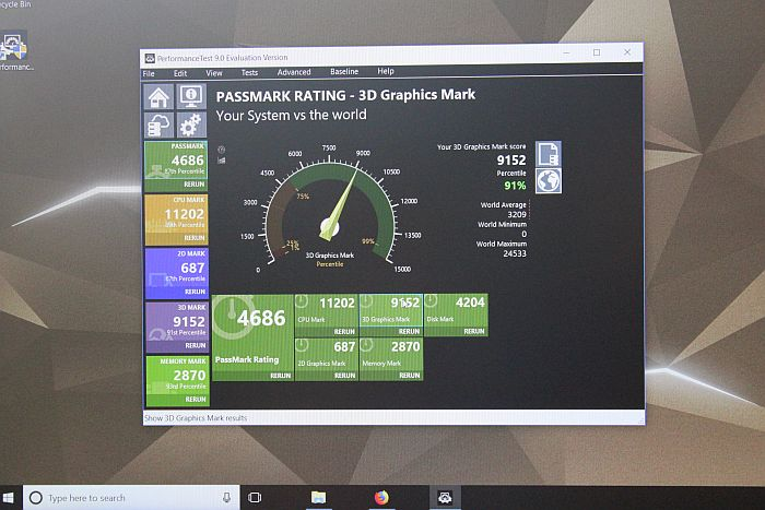 Acer Predator Helios 300 benchmark