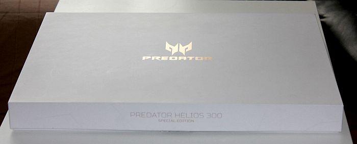 Acer Predator Helios 300 dizajn