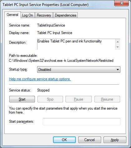 PC Input Service