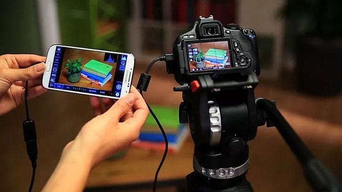 USB OTG spajanje DSLR kamere