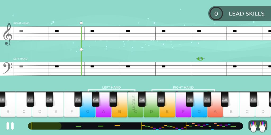 sviranje piana na pametnom telefonu1