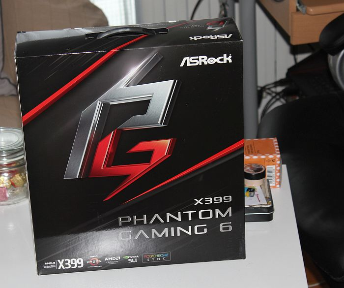 ASRock X399 Phantom Gaming 6 recenzija