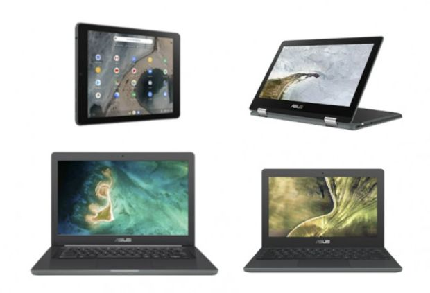 Asus Chromebook C204, C403 i Chromebook Flip C214