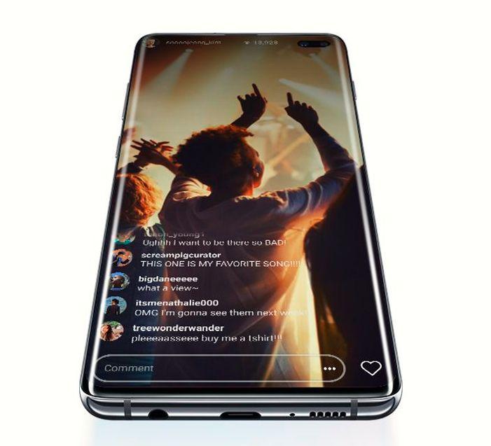 Samsung galaxy s10 amoled zaslon
