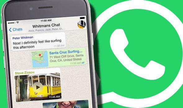 WhatsApp slanje GIF