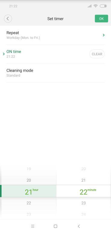 Xiaowa Roboroc E35 aplikacija 3