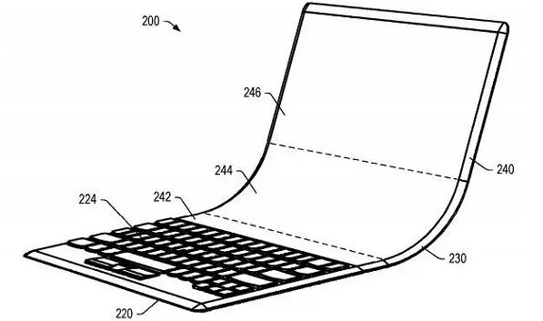 savitljivo prijenosno računalo