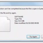 File in use