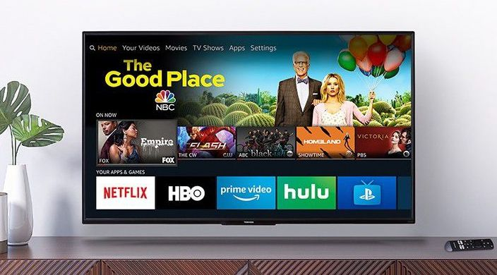 Toshiba 55-Inch Fire TV Edition (55LF621U19)