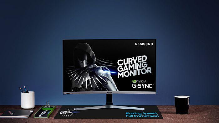 Samsung Curved Gaming Monitor CRG527_1