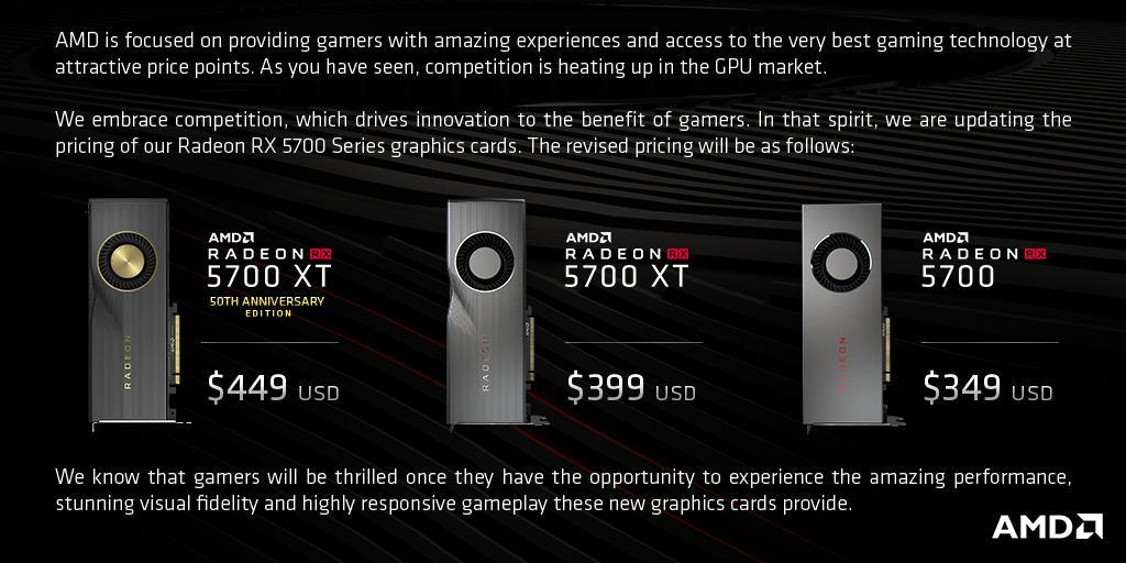 AMD Radeon 5700 XT