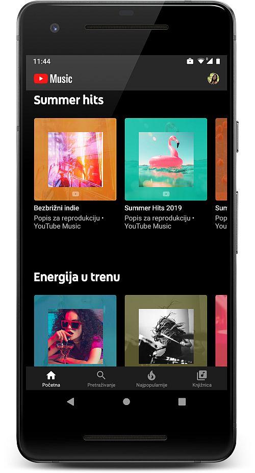 YouTube Music hrvatska