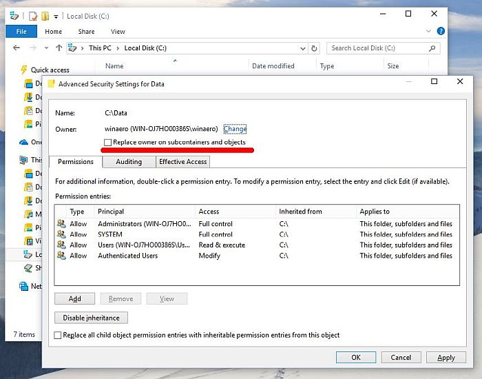 Windows-10 Owner