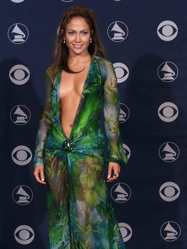 Jennifer Lopez na Grammy Awardsu