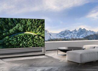 LG SIGNATURE OLED 8K TV