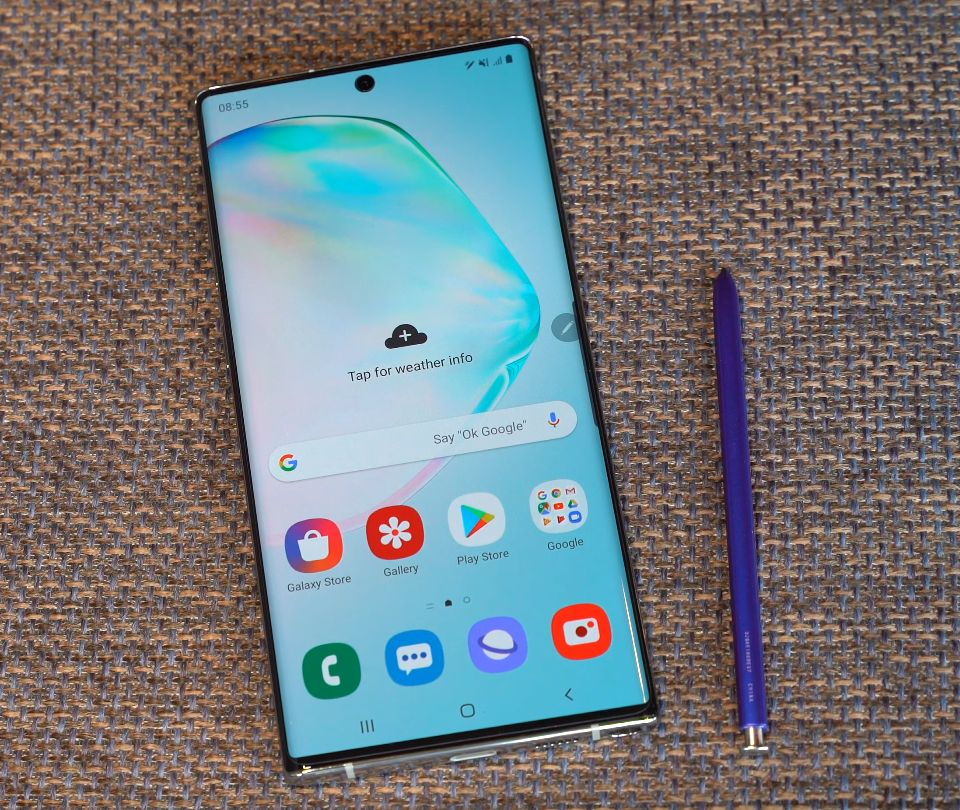 samsung galaxy note 10+ performanse