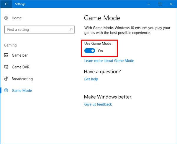 Game-Mode-u-Windows-10