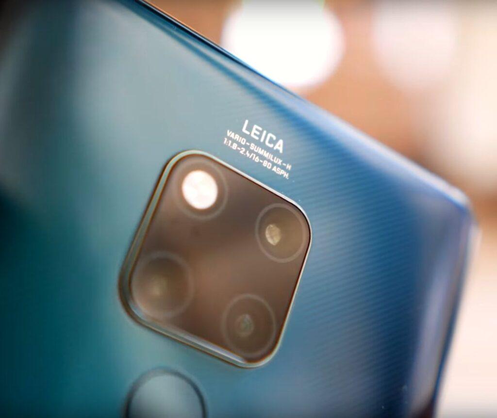 Huawei Mate 20X 5G kamerat