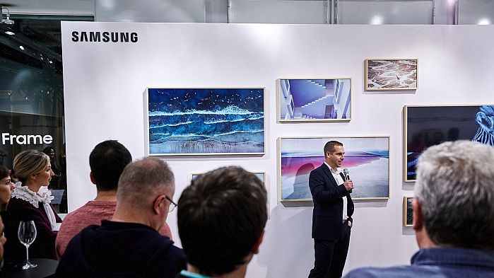 Hrvoje Katalenić, voditelj odjela potrošačke elektronike Samsung Electronics Adriatic